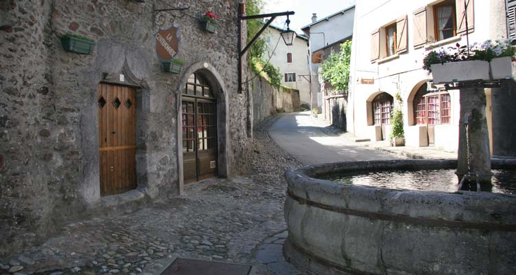 Conflans - The medieval town